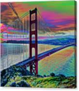 Golden Gate 1 Canvas Print