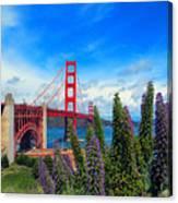 Golden Gate Bridge Five Canvas Print