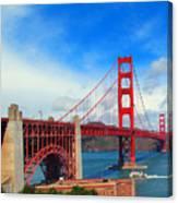 Golden Gate Bridge Four Canvas Print