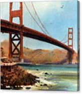 Golden Gate Bridge Looking North Canvas Print