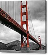Golden Gate Bridge - San Francisco Canvas Print