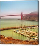 Golden Gate Bridge Sausalito Canvas Print