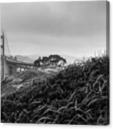 Golden Gate From Godfrey Canvas Print