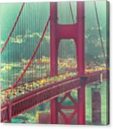 Golden Gate Portrait Canvas Print