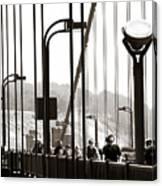 Golden Gate Suspension Canvas Print
