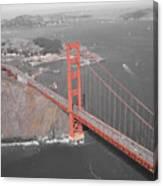 Golden Gate The Color Of The Bridge Canvas Print