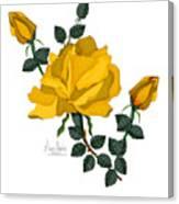 Golden Glory Canvas Print