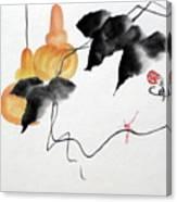 Golden Gourds Canvas Print