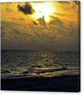 Golden Heavens Canvas Print