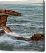 Golden Hour At Sunset Cliffs Canvas Print