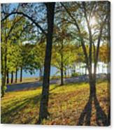 Golden Hour At Tenkiller State Park Canvas Print