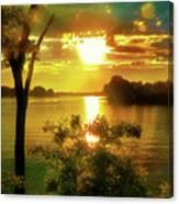 Golden Hour Beautiful Light Canvas Print
