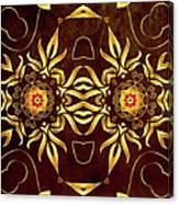 Golden Infinity Canvas Print