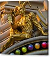 Golden Jester Canvas Print