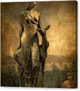 Golden Lady Canvas Print
