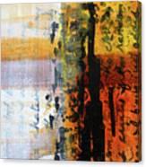 Golden Marks 4 Canvas Print