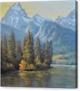 Golden Moments Canvas Print