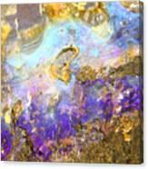 Golden Opal Canvas Print