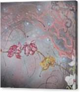 Golden Orchid Canvas Print