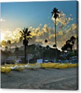 Golden Outriggers Canvas Print