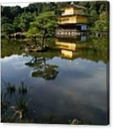 Golden Pavilion In Kyoto Canvas Print