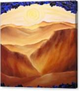 Golden Possibilities Canvas Print