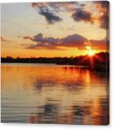 Golden Rays Canvas Print