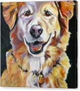 Golden Retriever Most Huggable Canvas Print