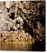 Golden Rocks Canvas Print