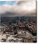 Golden San Francisco Canvas Print