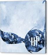 Golden Snitch-blue Canvas Print