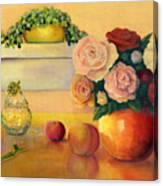 Golden Still Life Canvas Print