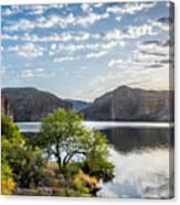 Golden Sunrise - Canyon Lake Canvas Print