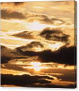Golden Sunset Canvas Print