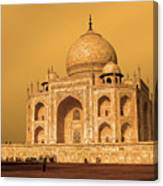 Golden Taj Mahal  Canvas Print