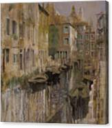 Golden Venice Canvas Print