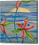 Golden Waikiki Sunset Canvas Print