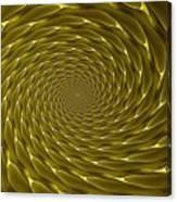 Goldenrod Vortex Canvas Print