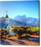 Goldfield Church Canvas Print
