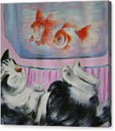 Goldfish Dream Canvas Print