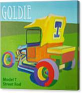 Goldie Model T Canvas Print