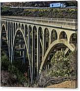 Goleta Hwy 101 Bridge Canvas Print