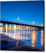 Goleta Pier At Sunrise Canvas Print