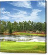 Golf At Pinehurst  Canvas Print