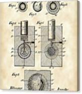 Golf Ball Patent 1902 - Vintage Canvas Print