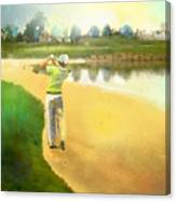 Golf In Club Fontana Austria 02 Canvas Print