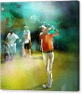 Golf In Club Fontana Austria 03 Canvas Print