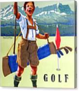 Golf In Deutchland Canvas Print