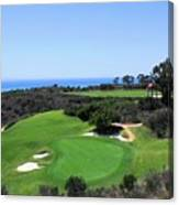Golf Is Rough At Pelican Hill Resort Canvas Print