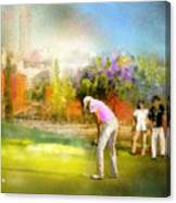 Golf Madrid Masters  02 Canvas Print